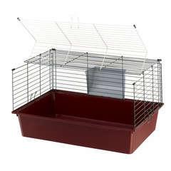 Cage Cavie 80 EL pour grands rongeurs : Longueur 77 cm