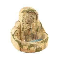 Fontaine typique de village du Vaucluse pour décor de crèches