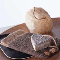 Eponge de loofa, pour exfolier en douceur