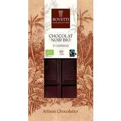 Tablette bio chocolat noir st domingue 100g