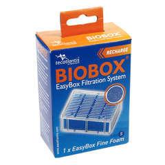 Easybox mousse fine s : plastique mousse l. 7 x l. 4 x h. 10