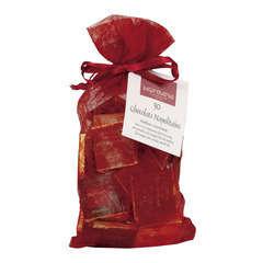 Sachet chrysalide de 50 carrés de chocolat 10 qualités 200g