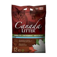 Litière minérale pour chat Canada Litter - 12 kg