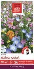 Mélange fleuri extra court 30m2 : En boite
