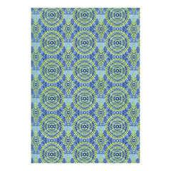 Feuille Décopatch 388 - Bleu avec motifs