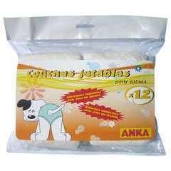 Couches culottes jetables pour chien : Taille M, par 12