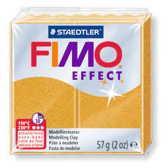 Pâte Fimo Effect, 57g - Métal or