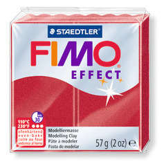 Pâte Fimo Effect, 57g - Métal rubis