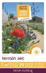 Mélange fleuri Terrain sec 7m2 : En boite
