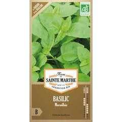 Graines de basilic marseillais Bio en sachet