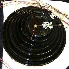 Soucoupe terre cuite émaillée : D.17 cm