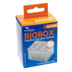 Easybox fibre xs : plastique ouate blanc l. 5,5 x l. 4 x h. 7 cm