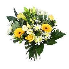 Bouquet de Fleurs ''Florelite Jaune''