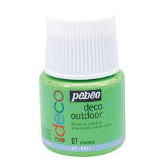 Peinture acrylique extérieure P.Bo deco, 45 ml - Prairie