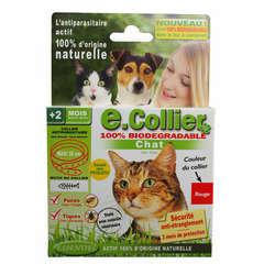 Collier antiparasitaire chat essentiel rouge 35cm