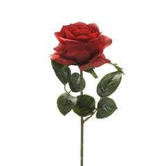 Tige rose simone, rouge H. 45 cm