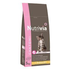 Croquettes chaton Nutrivia : 5 kg