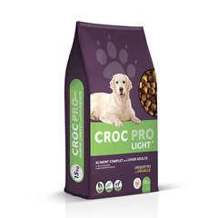 Croquettes chien Croc Pro Light : 15kg