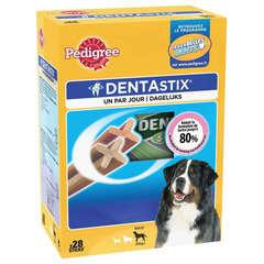 Os à mâcher Dentastix grand chien : 28 sticks 1080gr