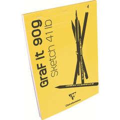 Bloc croquis collé Graf It de 80 feuilles (90g) A5 14,8x21 cm