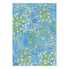 Feuille Décopatch 499 - Bleu avec motifs