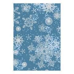 Feuille Décopatch 521 - Bleu avec motifs