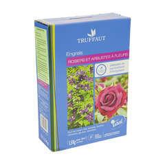 Engrais rosiers et arbustes à fleurs : 1,5kg