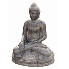 Statue bouddha assis H. 30 cm