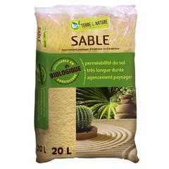 Sable - sac de 20 litres