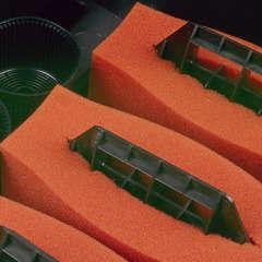 Mousses de filtration rouges pour BioSmart 16000 pour bassin