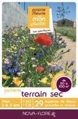 Mélange fleuri ' Terrain sec' 500 g - En boite