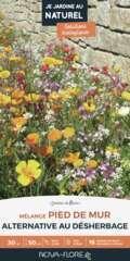 Mélange fleuri ' Pied de mur ' 200 g - En boite