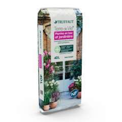 Terreau 'Terre de Vie®' pour plantes en bacs et jardinières- 40 litres