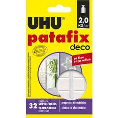 Patafix homedeco 32 pastilles UHU