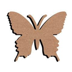 Forme en médium - Papillon 15x12cm