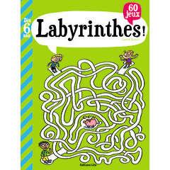 Livre d'activités: Labyrinthes