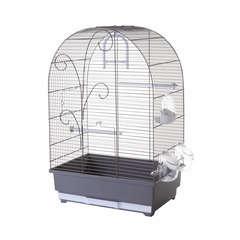 Cage oiseaux Lisa Charme : Hauteur 61 cm Taupe