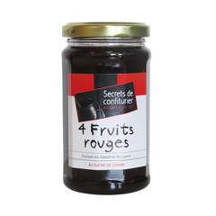 Confiture - 4 fruits rouges