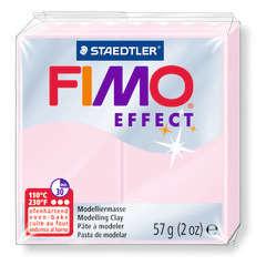 Pâte Fimo Effect, 57g - Translucide, rose quartz