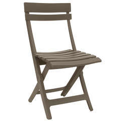 Chaise pliante Miami Taupe