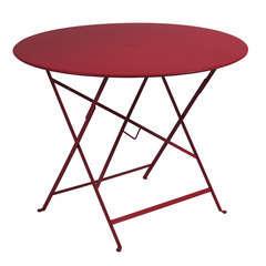 Table Bistro D96cm  Piment