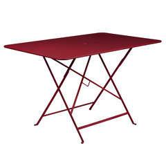 Table Bistro : L.117cm Piment