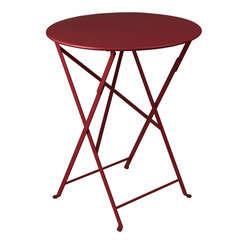 Table Bistro : Ø60cm Piment