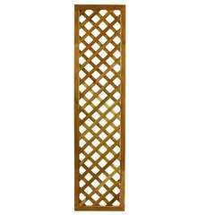 Treillis Jasmin à carreaux, en bois d'acacia - l.40 x H.180 cm