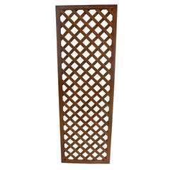 Treillis Jasmin à carreaux, en bois d'acacia - l.60 x H.180 cm