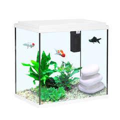 Aquarium Aqua Sarawak, blanc - 25 litres
