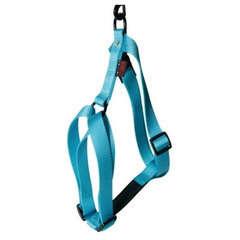 Harnais pour chiens en nylon réglable : Tour de cou 27-43 cm turquoise