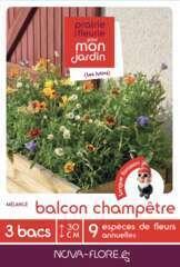 Mélange fleuri ' Balcon champêtre ' 16 g - En boite