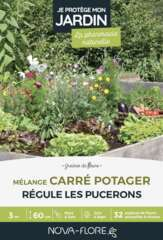 Prairies fleuries : carré potager j'attire les auxiliaires - 3m²
