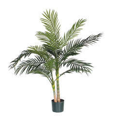 Palmier golden cane en pot, vert Ø 100 x H. 120 cm